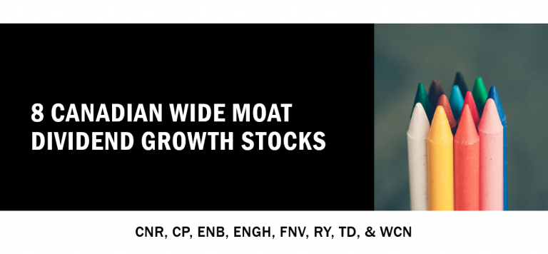 8 Canadian Wide Moat Dividend Growth Stocks