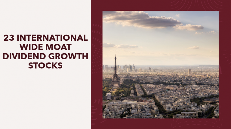 23 International Wide Moat Dividend Growth Stocks