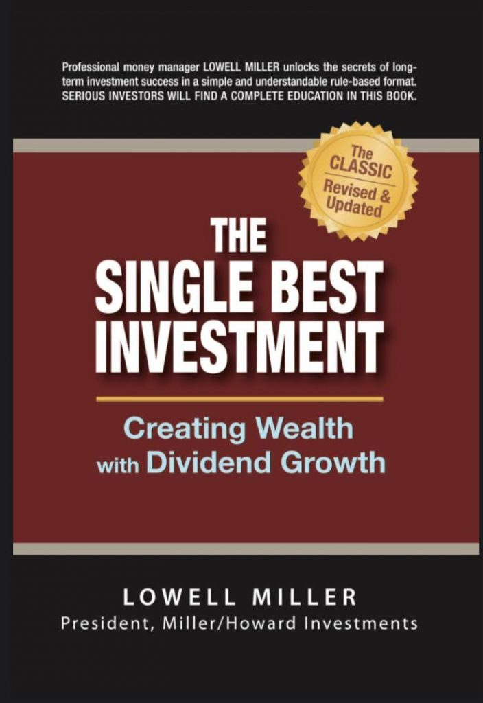 Single Best Investment Creating Wealth with Dividend Growth